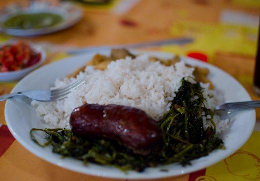 Repas malgache typique