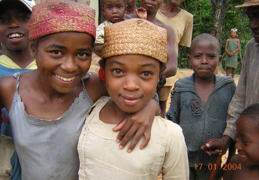 Southern malagasy kids