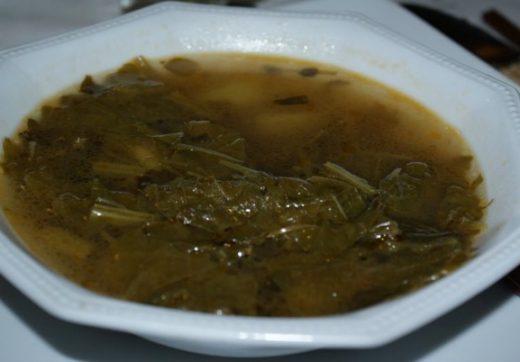 A romazava dish