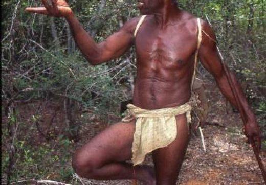 Un membre de la tribu Mikea