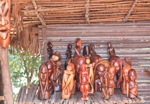 L'image qui sortira de la sculpture dépend de la structure et l'état du bois.